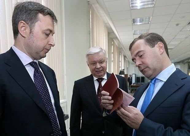 медведев, интернет паспорт