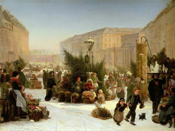 елочный базар картина